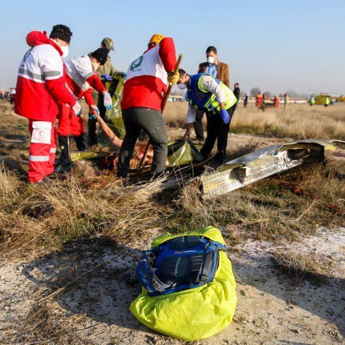 Irane sudužo Ukrainos keleivinis lėktuvas  © Scanpix nuotr.