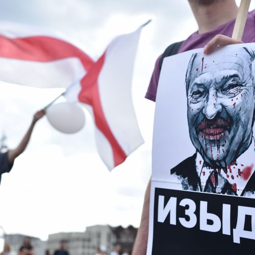 Baltarusijoje toliau nerimsta protestai  © Scanpix nuotr.