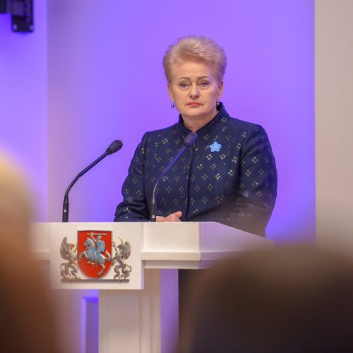Prezidentūroje apdovanoti šalies mokytojai  © R. Dačkaus / Prezidentūros nuotr.