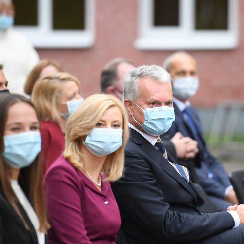 G. Nausėda Mokslo ir žinių dienos renginiuose  © R. Dačkaus / Prezidentūros nuotr.