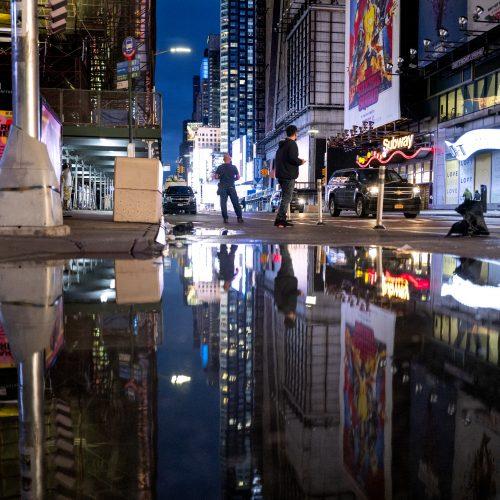 Potvyniai Niujorke
