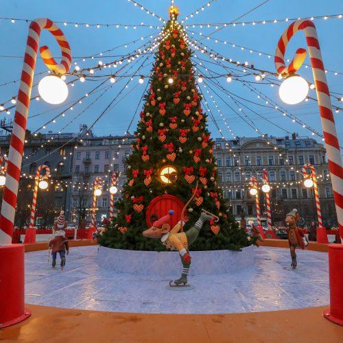 Pasaulis ruošiasi Kalėdoms