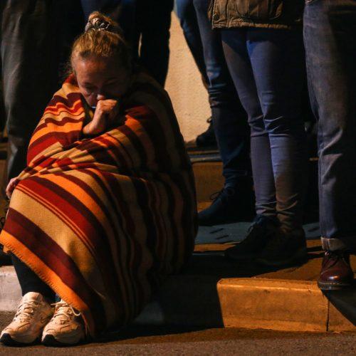 Iš izoliatoriaus Minske paleidžiami protestuotojai  © Scanpix nuotr.