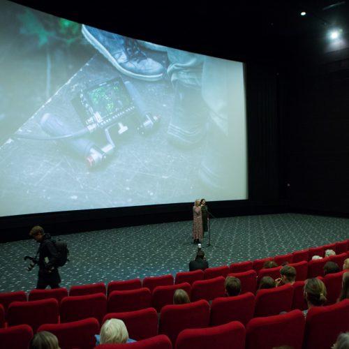 """Filmo """"Kvėpavimas į marmurą"""" premjera  © G.Skaraitienės/Fotobankas nuotr."""