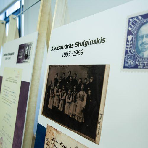 """Paroda """"Vasario 16-osios akto signatarų autografai profesoriaus L. Mažylio kolekcijoje"""