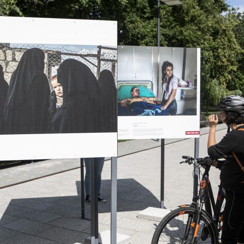 """""""Pasaulio spaudos fotografijos 2020"""" paroda   © P.Peleckio/Fotobanko nuotr."""