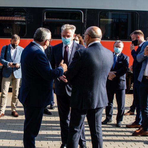 J. Narkevičiaus, A. Adamczyko ir V. Matijošaičio susitikimas Kaune  © T.Bilūno/Fotobanko nuotr.