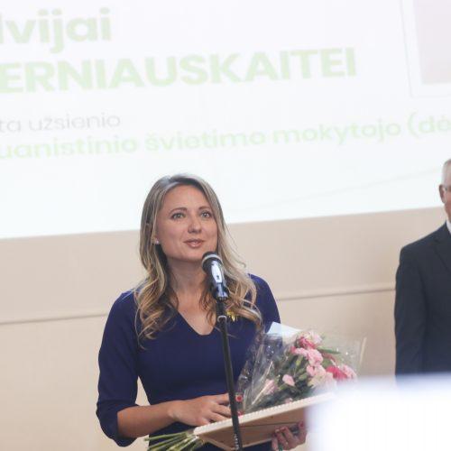 Įteiktos Metų mokytojo premijos  © M. Morkevičiaus/ELTOS nuotr.