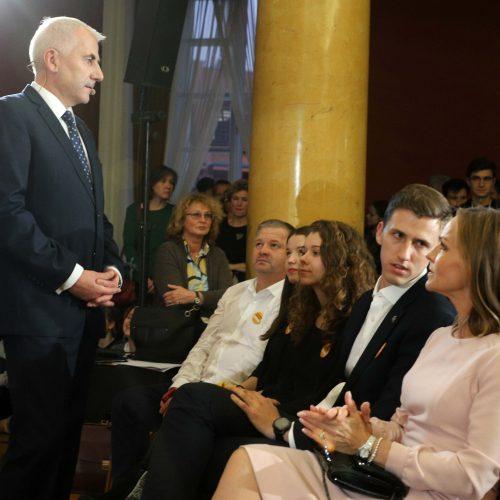I. Šimonytės ir V. Ušacko rinkimų debatai  © D.Labučio/ELTOS nuotr.