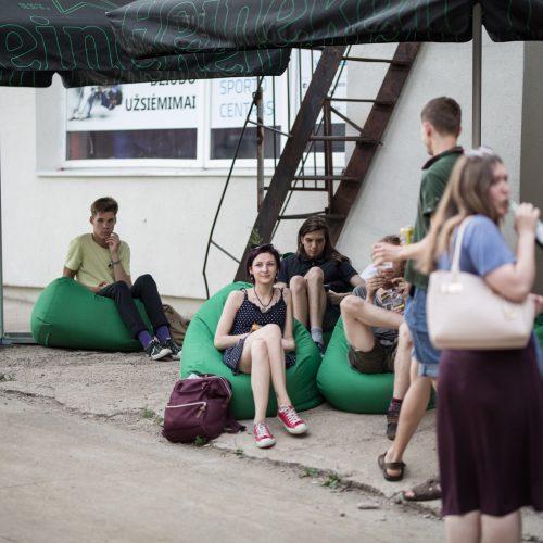 """Tarptautinis jaunų grupių konkursas """"Novus""""  © M. Vitėno nuotr."""