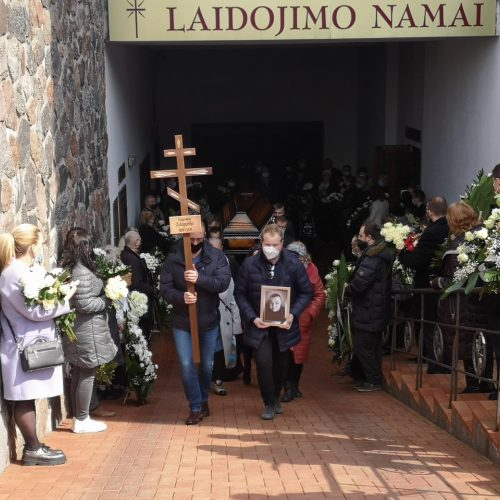 Dainininko E. Ostapenko laidotuvės  © Vytauto Liaudanskio nuotr.
