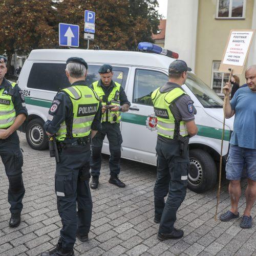Mitingas S. Daukanto aikštėje  © M. Morkevičiaus / ELTOS nuotr.