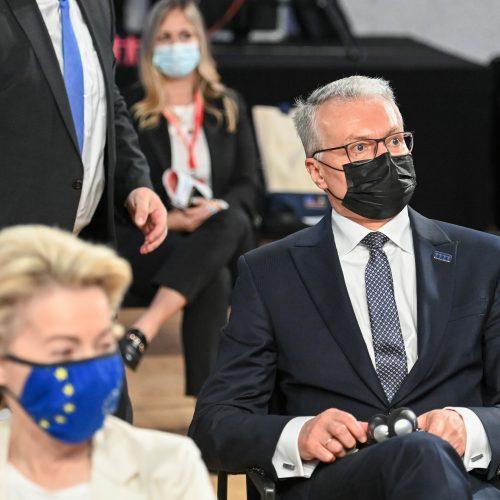 G. Nausėda ES viršūnių susitikime