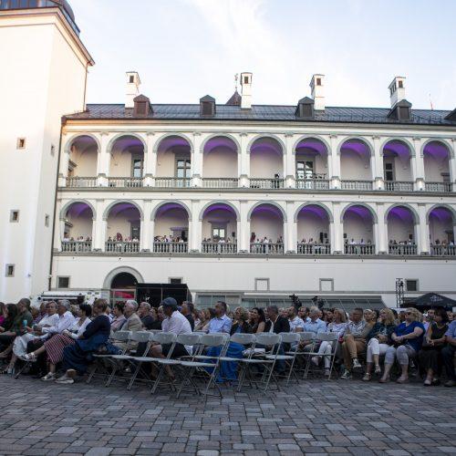 """Midsummer Vilnius 2021"". ""Tango Piazzolla"": I. Prudnikovaitė  © P. Peleckio/Fotobanko nuotr."