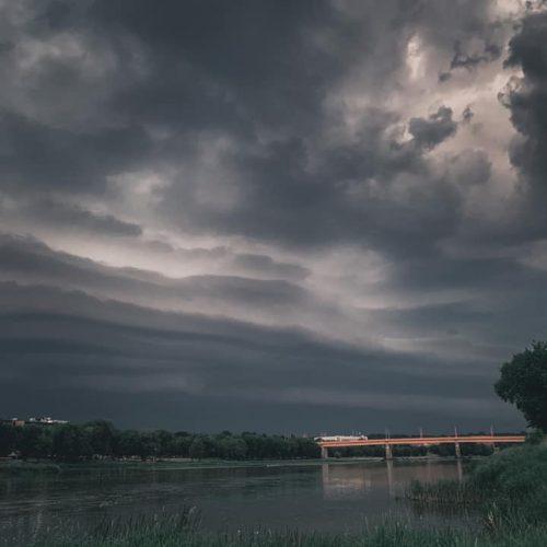Per Jonines Kauną užklupo škvalas  © Vilmanto Raupelio ir skaitytojų nuotr.
