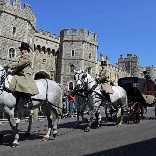 Britanija ruošiasi karališkosioms vestuvėms  © Scanpix nuotr.