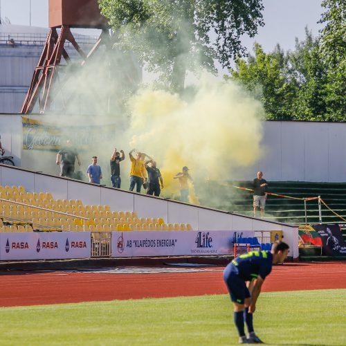 """A lyga: Klaipėdos """"Atlantas"""" - Vilniaus """"Riteriai"""" 2:3  © Vytauto Petriko nuotr."""