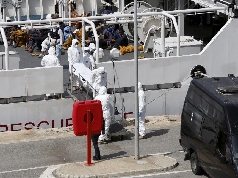 Tarptautinė migracijos organizacija gavo pranešimą apie nelaimę Viduržemio jūroje
