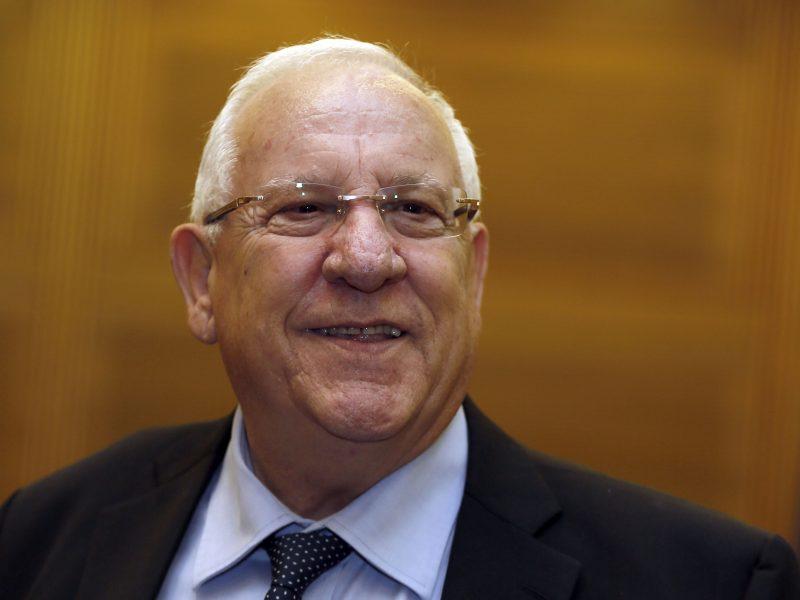 Izraelio prezidentas pavedė B. Gantzui suformuoti vyriausybę