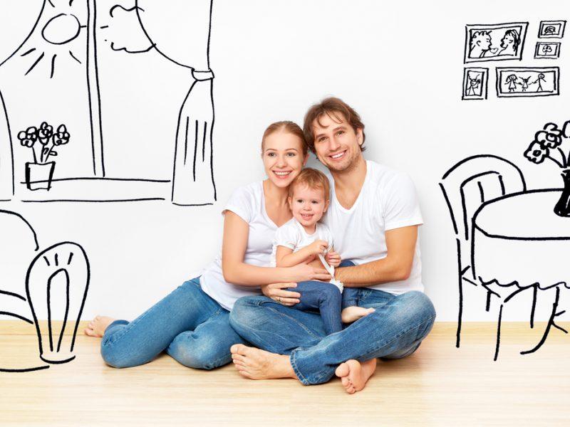Norima dar palengvinti būsto pirkimą jaunoms šeimoms