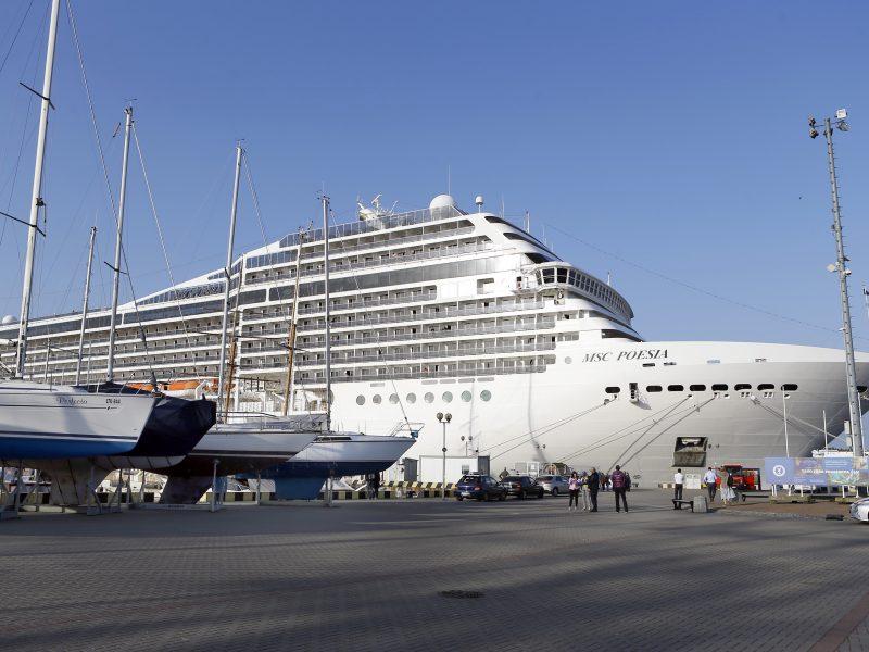 Klaipėdoje kitąmet laukiama rekordiškai daug kruizų laivų