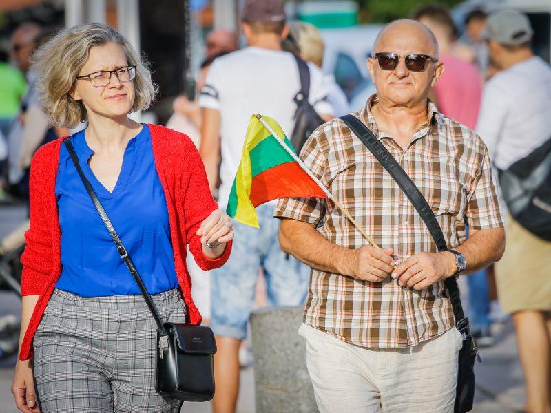Baltijos kelio minėjimas Klaipėdoje