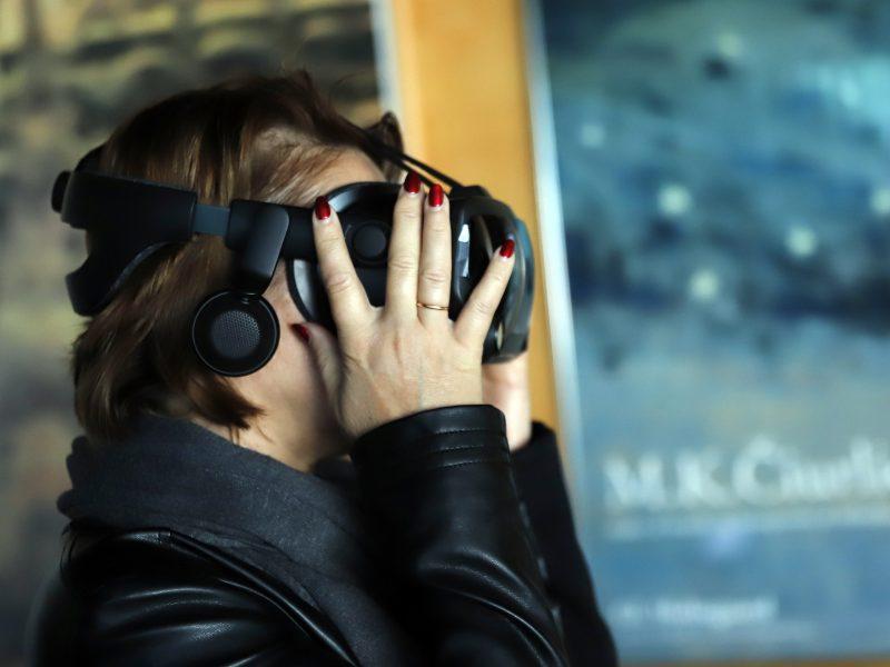 Virtualus žvilgsnis į M.K.Čiurlionio kūrybą