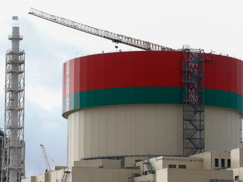 Baltarusija pradėjo elektros gamybą Astravo atominėje elektrinėje