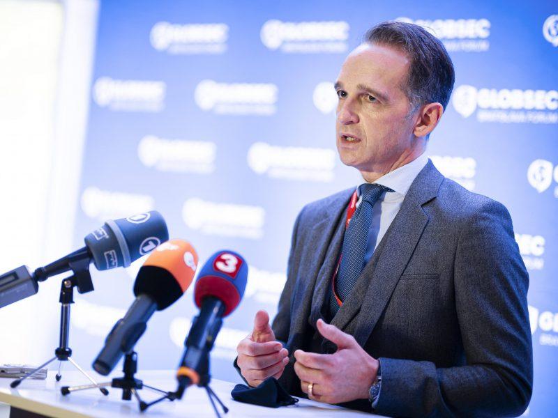 Vokietija ragina Turkiją atsisakyti provokacijų Viduržemio jūroje