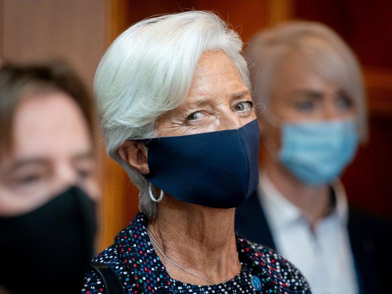 ECB vadovė: verslui reikia daugiau lyderių moterų