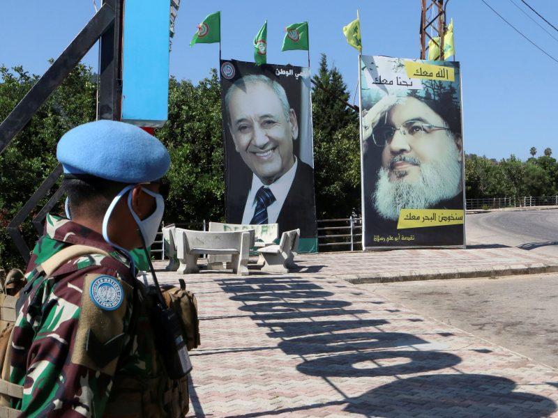 Libanas sutinka pradėti derybas dėl sienų su Izraeliu