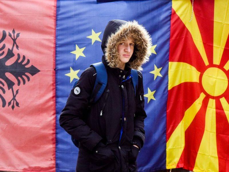 ES perspėjo apie ginčo su Šiaurės Makedonija keliamą pavojų Balkanų saugumui