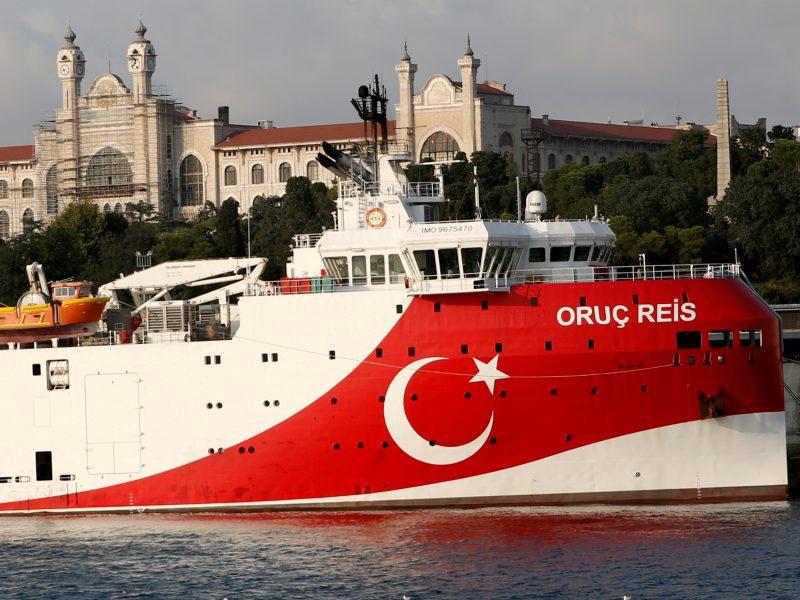 """JAV reikalauja Turkijos nutraukti """"apgalvotas provokacijas"""" Viduržemio jūroje"""