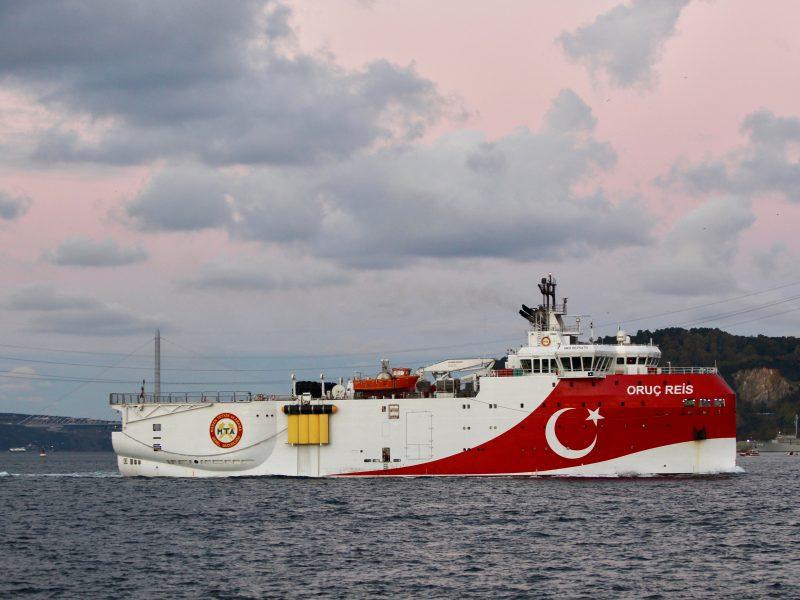 Turkija pratęsė gamtinių dujų telkinių žvalgymo misiją