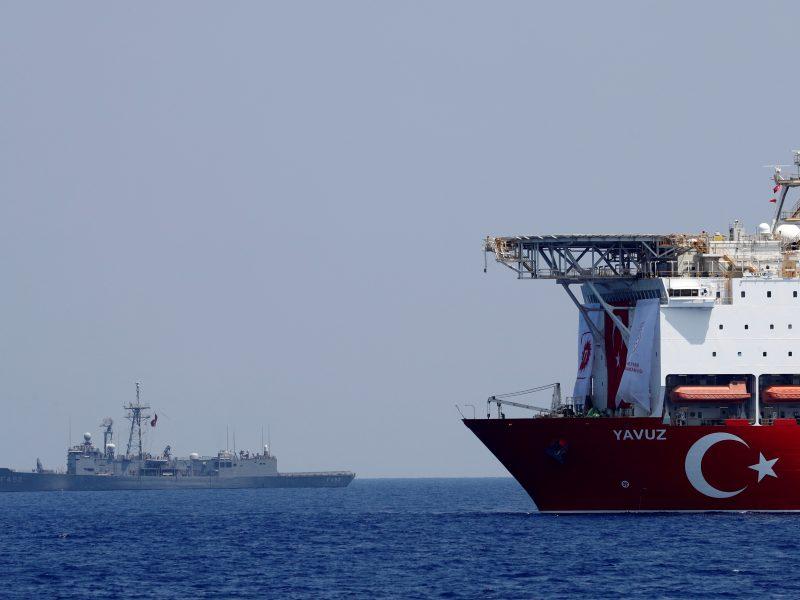 Kipras džiaugiasi: turkų dujų žvalgybos laivas pasuko link savo krantų