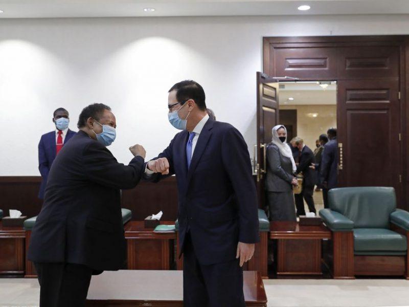 Sudanas pažadėjo normalizuoti santykius su Izraeliu