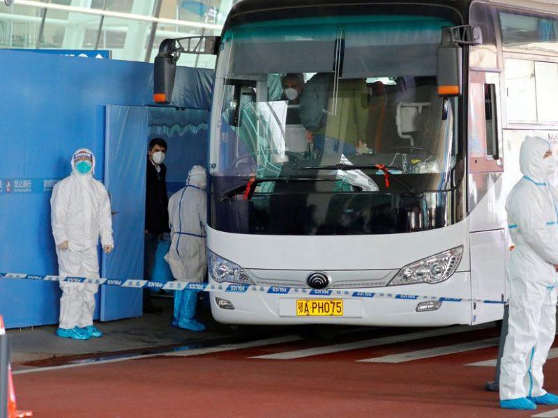 PSO ekspertai atvyko į Kinijos Uhano miestą