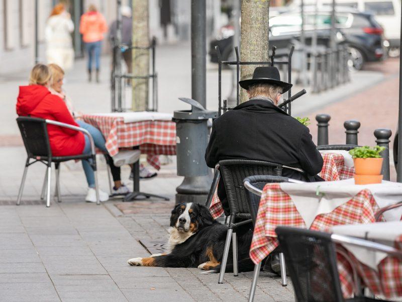 Vilnius ruošiasi lauko kavinių sezonui