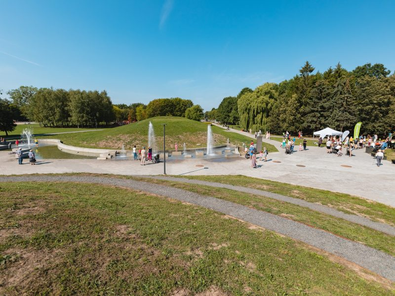 Atnaujinto Draugystės parko atidarymas