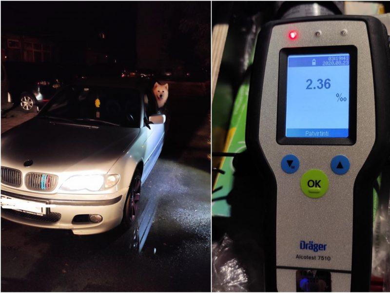 Pareigūnams pajūryje darbo netrūko: girtus vairuotojus vos spėjo vežti į areštinę