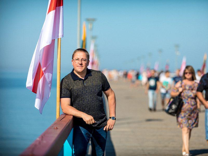 Solidarumo akcija pajūryje: Baltijos kelią dedikuos baltarusiams