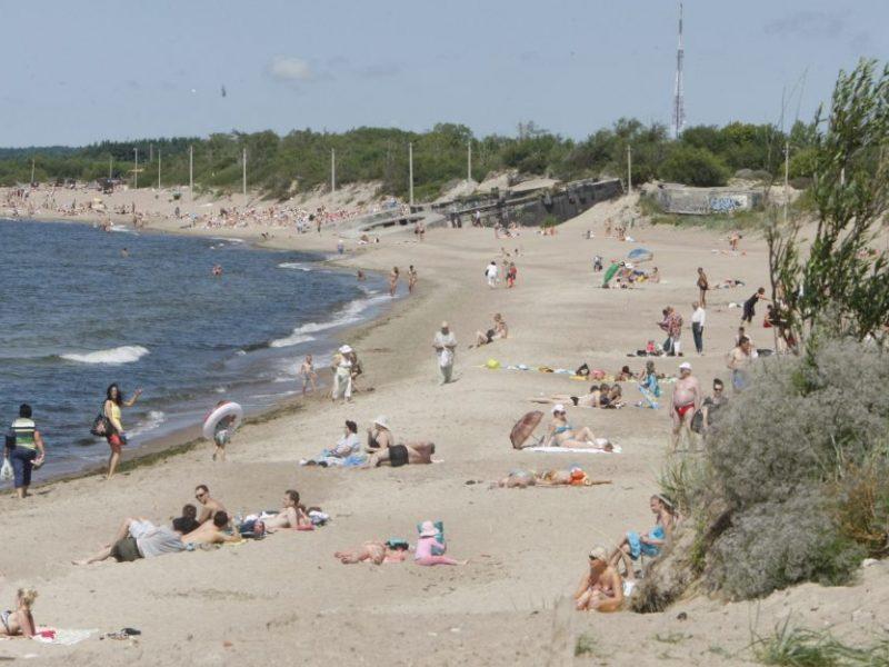 Aplinkos ministerija: po taršos incidento – naftos produktų smėlyje ir vandenyje nėra