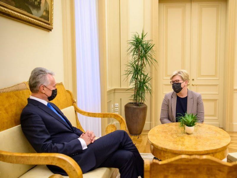Pusė I. Šimonytės pasiūlyto Ministrų kabineto narių – moterys