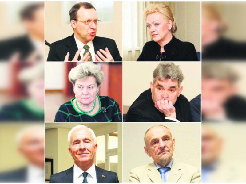 Politinė misija baigta: ką veiks į Seimą neišrinkti kandidatai?
