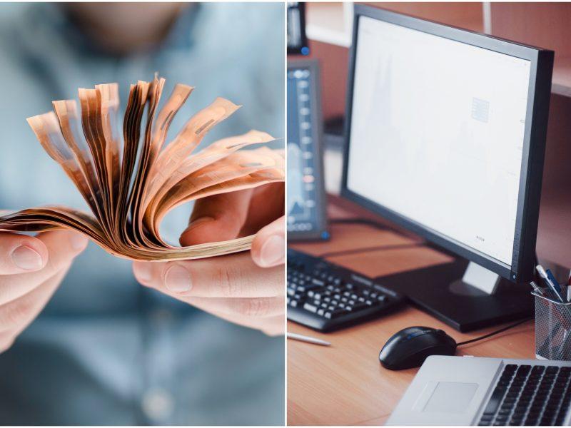 uždirbti pinigus iš kompiuterio
