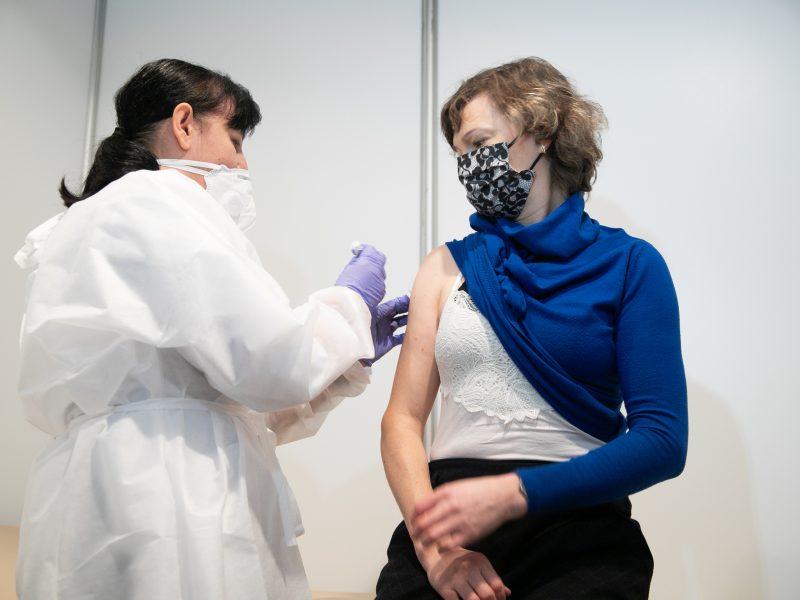 Kauno centriniame pašte pradėta vakcinacija