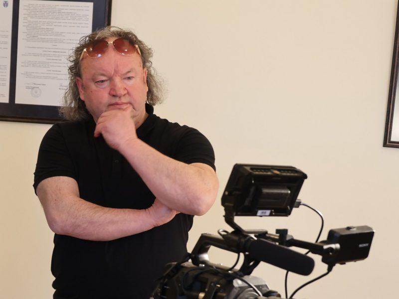 Tituluotas filmų kūrėjas A. Barysas Kauno rajoną vadina atradimu