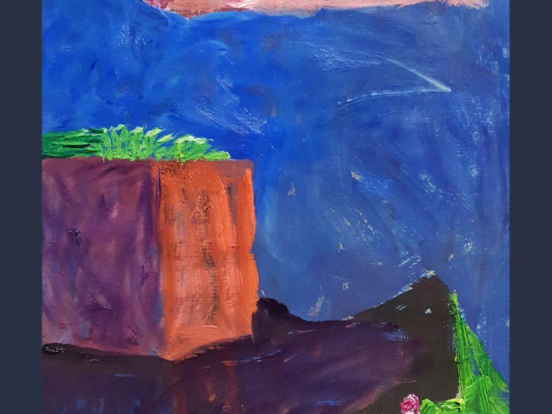 """Sostinėje – I. Budrytės tapybos paroda """"Iškasti ir išnirę"""""""