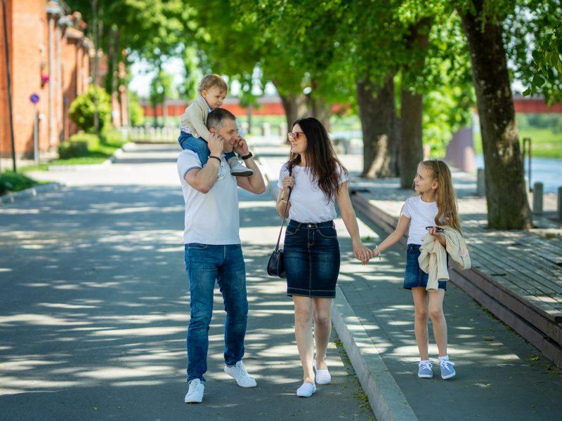 Istorijos mokytoja pirmiausia su Lietuva supažindina savo vaikus
