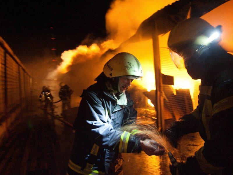 Raseinių rajone esančioje gyvulių fermoje kilęs gaisras lokalizuotas